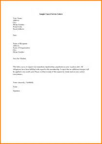 Membership Consultant Cover Letter by Membership Cancellation Letter Thebridgesummit Co
