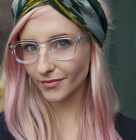 transparently trendy the clear glasses prescription eyeglasses trends 2017