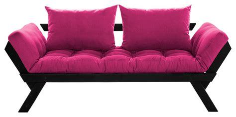 fresh futon bebop convertible futon sofa bed black frame