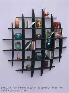 Dvd Rack Wall Dvd Cd Storage Rack Wall Mounted Unit Retro Style Shelving