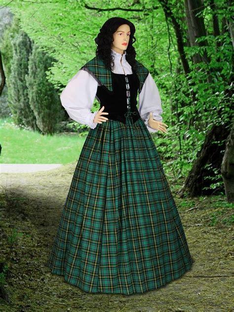 traditional scottish dress tartan highland renaissance