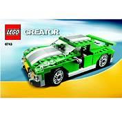 LEGO Street Speeder Instructions 6743 Creator