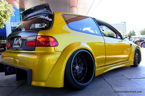 honda civic modified 92 95 custom honda civic hatchback 19 jpg picture number