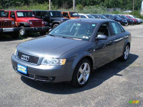 Audi A 4 2004 by 2004 Dolphin Grey Metallic Audi A4 1 8t Quattro Sedan