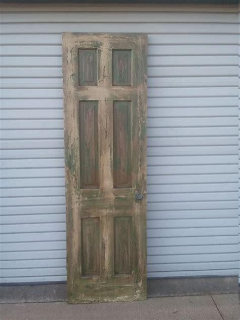 distressed door  panel door  panel cross pantry door