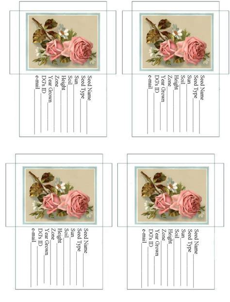 printable seed paper uk 76 best images about printables on pinterest pantry