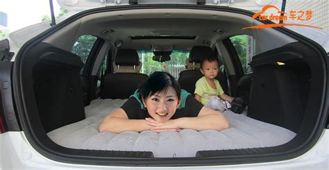 hatchback car travel bed inflatable air mattress car automobile air bed car shock  automobiles