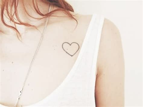30 cool heart tattoos for girls creativefan