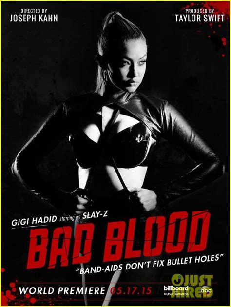 life size taylor swift poster taylor swift s bad blood video see every celeb poster