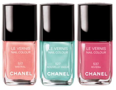 Chanel Summer Exclusive Colour Collection 2007 by Chanel Nouvelle Vague Mistral Riviera Swatches Review