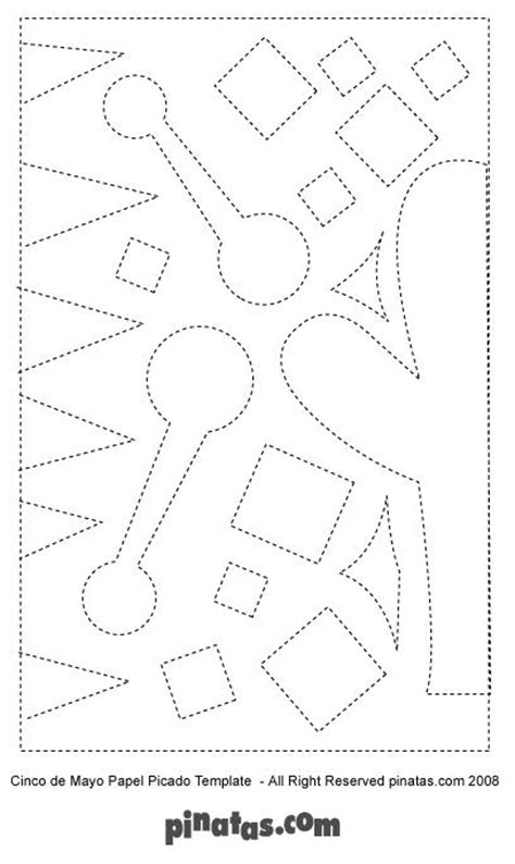 How To Make Papel Picado Free Printable Papel Picado Patterns Pinatas Com Free Printable Papel Picado Template