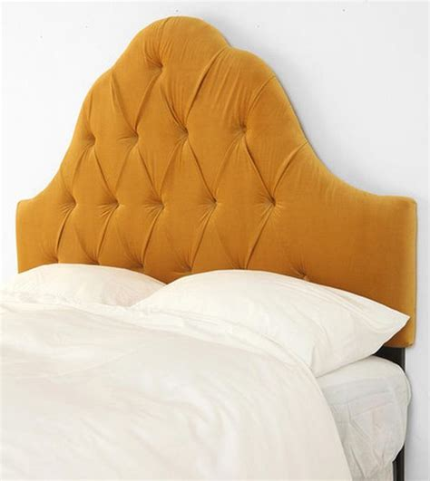 gold tufted headboard 34 gorgeous tufted headboard design ideas