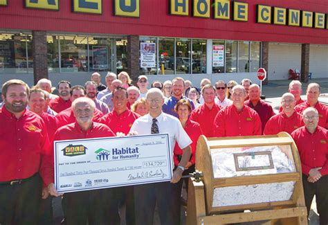 valu home centers fundraising caign nets 134 720 for