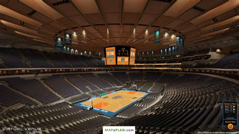 Madison Square Garden Seating Chart Section 220 View