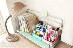 Diy Desk Organizers Diy Paper Stationery Makeup Cosmetic Desk Organizer Storage Box 2 Colors Ebay