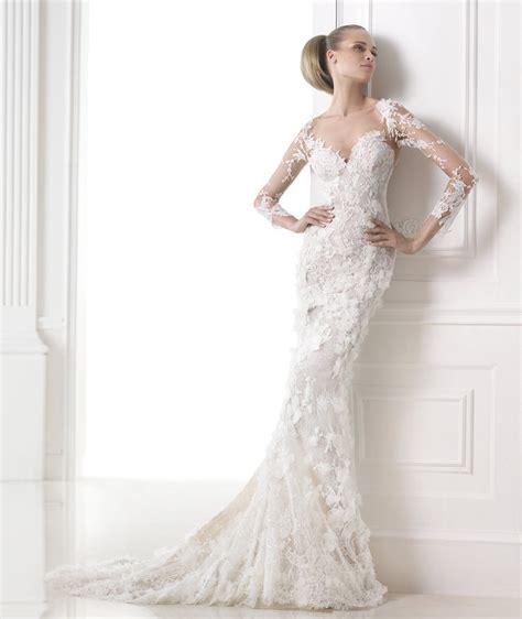 fotos de vestidos de novia sexis los vestidos de novia sexis y elegantes de pronovias
