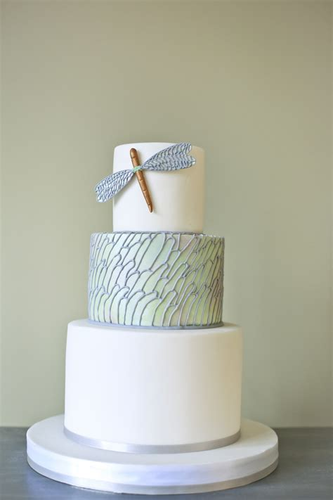 Contemporary Wedding Cakes by Modern Wedding Cake Cakes By Robin
