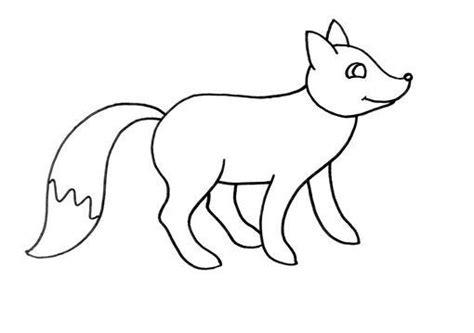 dibujos infantiles zorro dibujo para colorear zorro