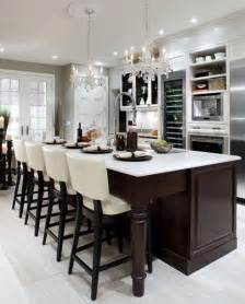 Divine Design Kitchen by White Quartz Countertops Dark Wood White Cabinets