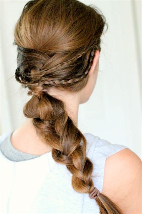 braided summer hairstyle ideas pinkwhen