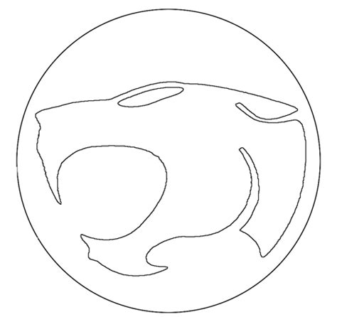 thundercats pumpkin carving template blurgh the thinkgeek they pwned our pmpkins