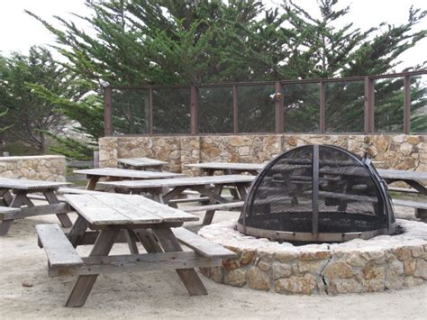 pit picnic table asilomar and conference center