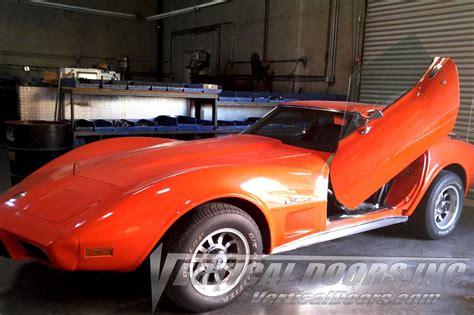 c3 corvette 1968 1982 vertical doors lambo style complete