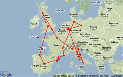 10 for travel around europe cheap