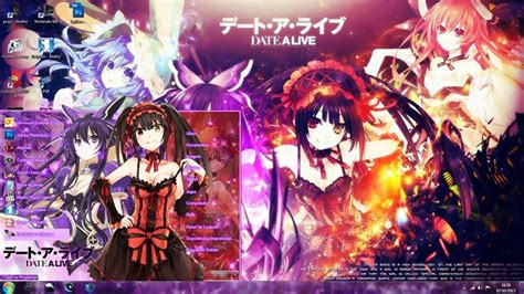 themes date a live theme win 7 date a live by gilson
