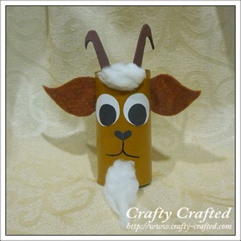 Goat Paper Plate Craft - goat crafts on coloring sheets crafts and