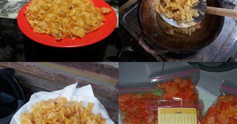 resep emping jagung enak  sederhana cookpad