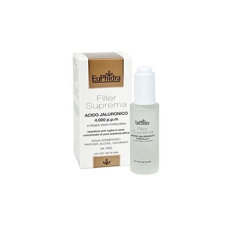 filler suprema euphidra euphidra filler suprema acido jaluronico 30 ml boscia