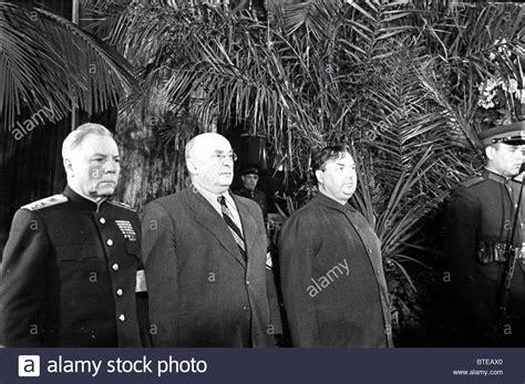 Beria S voroshilov beria and malenkov in the guard of honour at