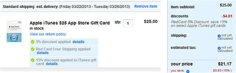 Target Price Match Gift Card - best buy 100 itunes gift card 80 or price match at target and earn an extra 5 off