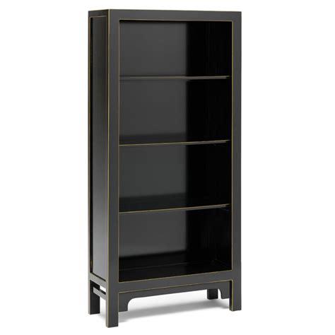 oriental style furnituremodern black bookcase candle