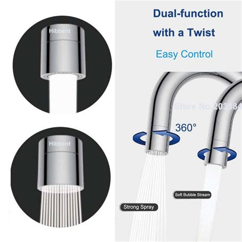 swivel aerators for faucets