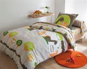 linge de lit enfant dinosaures becquet