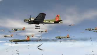 B17 Bombs Away - Wallpaper Image featuring Aircraft B 17 Flying Fortress Wallpaper