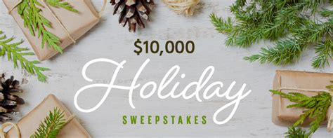 Holiday Sweepstakes 2016 - cooking light 10 000 holiday sweepstakes 2016