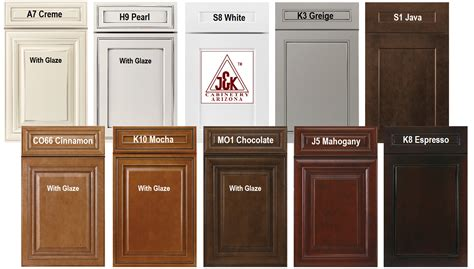 kitchen cabinets styles and colors j k cabinets az dealer kitchen bath remodeling showroom