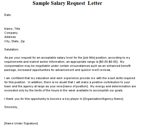 pay rise request letter requesting a pay raise requires careful