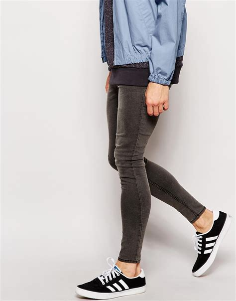 super skinny jeans shop for mens super skinny jeans asos cheap monday jeans low spray extreme super skinny fit worn