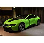 Individual BMW I8 Shows Up Dressed In Lime Green Abu