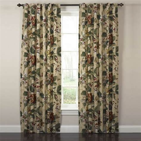 waverly drapery panels waverly laurel springs curtain pair