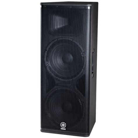 Speaker Aktif Yamaha Dsr 215 musicworks pa powered speakers front of house speakers