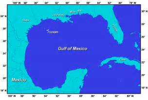 gulf of map gulf of mexico map mappery