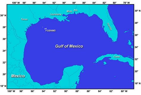 map of gulf of mexico gulf of mexico map mappery