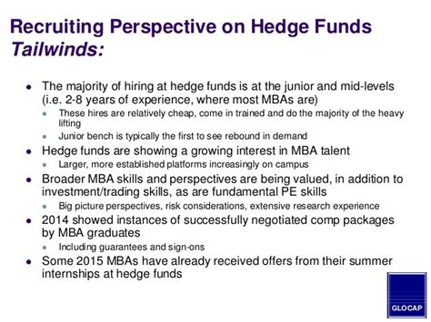 Hedge Fund Manager Mba by 2014 Mba Guide To Hiring In The Equity Venture