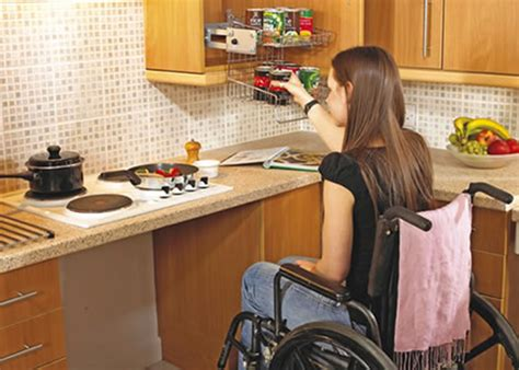 handicap accessible kitchen cabinets wheelchair accessible kitchen nmeda