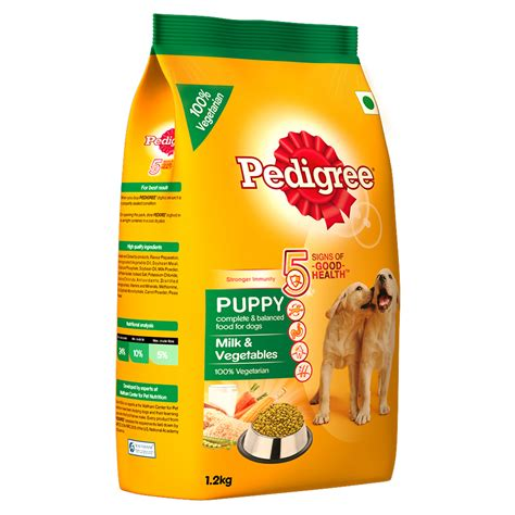 Food Pedigree 1 5 Kg 1 pedigree puppy milk vegetables food 1 2 kg dogspot pet supply store